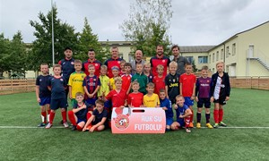 Tobulinant sportinę veiklą – Garliavos futbolo klubas naudoja šiuolaikinę ugdymo programą