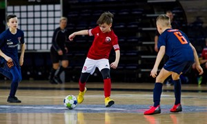 Vaikų salės futbolo čempionato pradžia – sausio 25-ąją