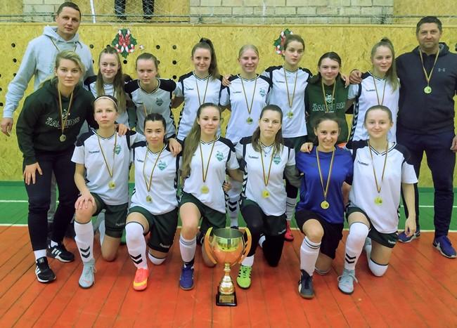 """MFA """"Žalgirio"""" komanda triumfavo merginų čempionate"""