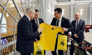 Švietimo, mokslo ir sporto ministras su FIFA turnyrų vadovu ir LFF vadovais aptarė pasirengimą Pasaulio salės futbolo čempionatui
