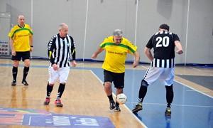 Jonavoje surengtas senjorų 60+ futsal turnyras