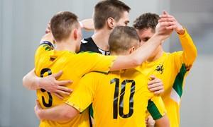 Lietuviai susitiks su Juodkalnija antrame Futsal EURO 2022 atrankos etape