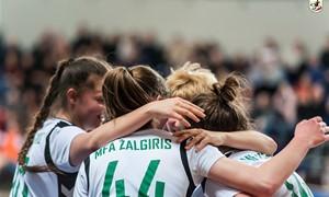 Dvi komandos užsitikrino kelialapius į moterų futsal čempionato finalinį etapą