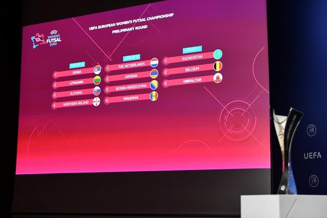 Paaiškėjo lietuvių varžovės UEFA Futsal čempionato atrankoje