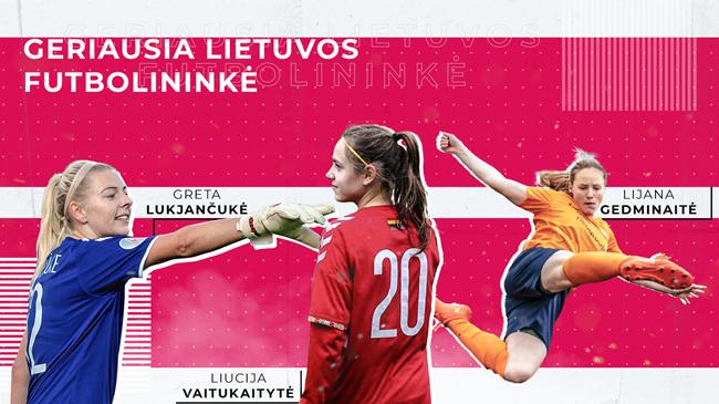 Geriausios Lietuvos futbolininkės iš arti: patarimai sau vaikystėje, svajonių supergalia ir mėgstamiausi klubai