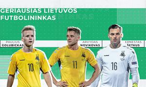 Geriausi Lietuvos futbolininkai iš arti: įsimintiniausios karjeros rungtynės, hipotetiniai klausimai ir geriausias patarimas
