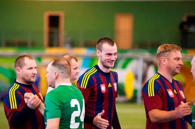 Šventiniame turnyre – įspūdingos kamuolio virtuozų pamokos