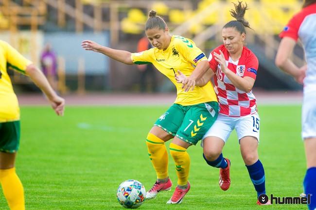 """D. Gailevičiūtė: """"Futbolas buvo malonus hobis, kuris atvedė į profesionalų sportą"""""""