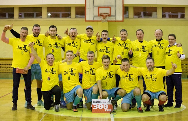 LFF futsal I lygos Šiaulių apskrities pirmenybėse – Radviliškio ekipos triumfas