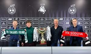 """A. Jankauskas: """"Supertaurės rungtynėse favorito nėra"""""""
