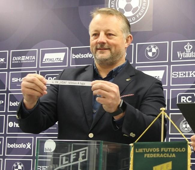 Atsistatydino Lietuvos salės futbolo asociacijos direktorius