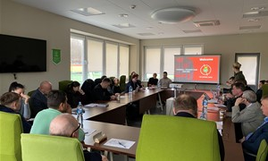 Surengtas LMFA varžybose dalyvausiančių komandų atstovų susitikimas