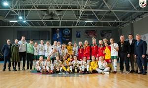 Lietuvos futsalo čempionių titulą iškovojo Vilniaus žalgirietės