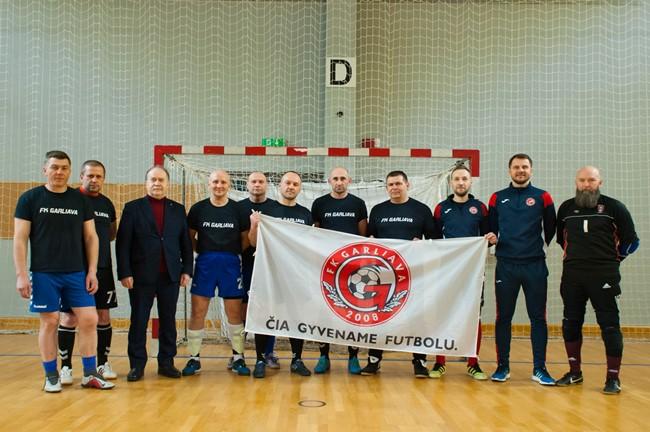 Garliavoje vykusiame veteranų futsal turnyre triumfavo dzūkai