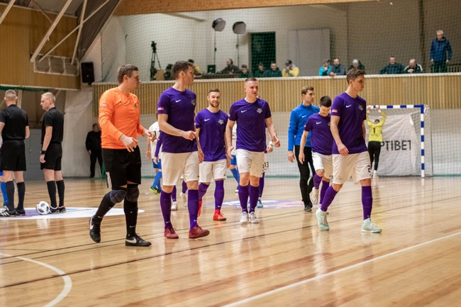 """Į Optibet Futsal A lygos finalą pirmą kartą žengė """"Vikingai"""""""