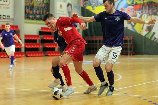 Optibet Futsal A lyga startuos burbuluose