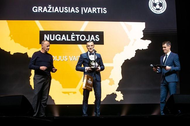 2020-ųjų Optibet Lietuvos futbolo apdovanojimai: kandidatai tapti gražiausiu metų įvarčiu