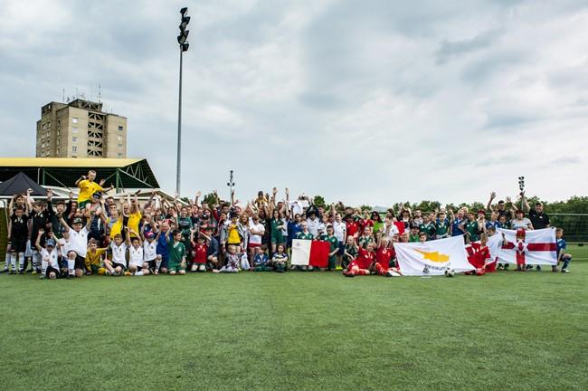 Masinio futbolo projektuose per kelis metus – 100 tūkstančių dalyvių