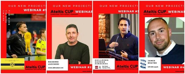 """""""Ateitis CUP"""" pristato naująjį projektą """"Futbolo webinarai"""""""