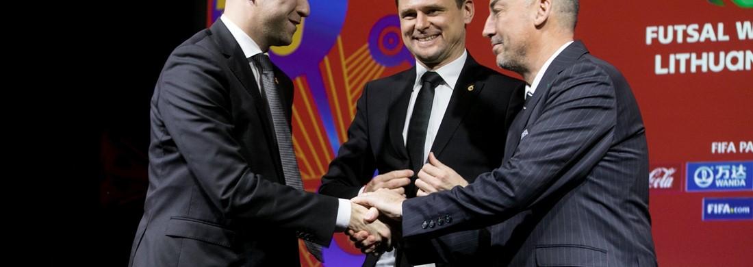 FIFA salės futbolo pasaulio čempionatas perkeliamas į 2021 m.