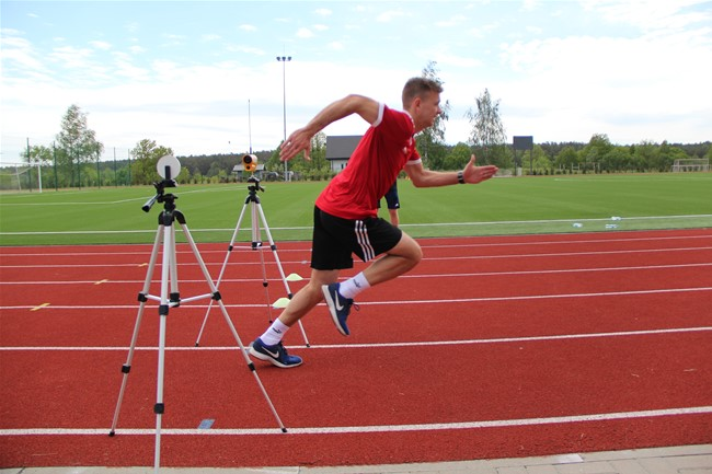 Prieš sezono startą teisėjai atliko fizinio pasirengimo testus