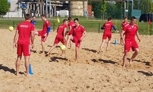 Lietuvos paplūdimio rinktinė pradeda kovas Europos B diviziono čempionate