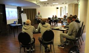 Surengti futbolo mentorystės mokymai