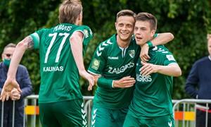 """""""Kauno Žalgiris"""" pateko į Hegelmann LFF taurės ketvirtfinalį"""