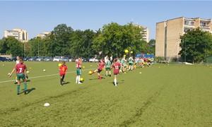 LFF surengė atvirąją treniruotę Vilniaus regiono merginoms