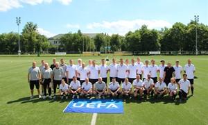 Prasidėjo FTRA mokymų maratonas: treneriai siekia UEFA A licencijos