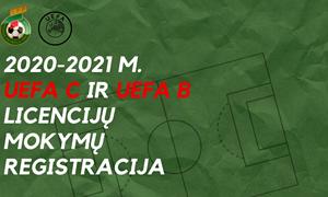 UEFA C ir B licencijų mokymai startuos nuo rugsėjo