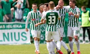 """Vilniaus """"Žalgiris"""" užtikrintai žengė į kitą Hegelmann LFF taurės etapą"""