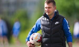 """BFA treneris A. Falčikas: """"Sieksime tapti stipria taurių komanda"""""""
