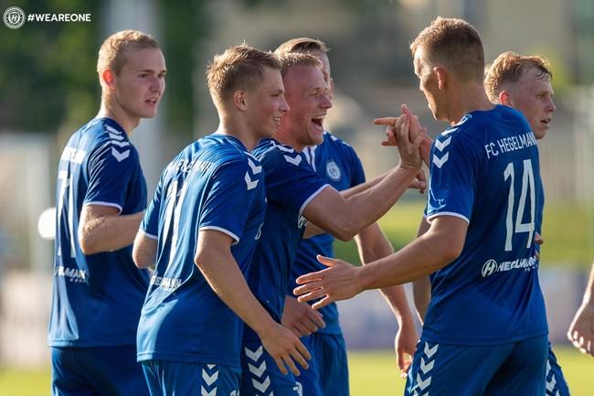 """Pirmose Hegelmann LFF aštunfinalio rungtynėse – """"Hegelmann Litauen"""" pergalė"""