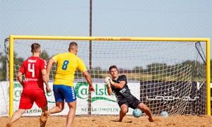 Pradedama registracija į Lietuvos paplūdimio futbolo čempionatą