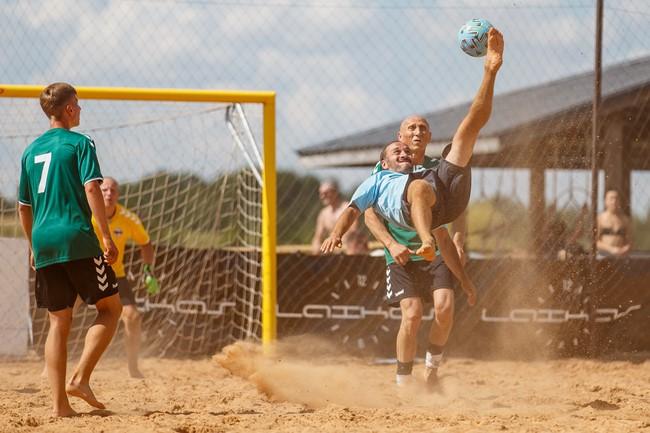 Paplūdimio čempionate – Vilniaus komandų lyderystė