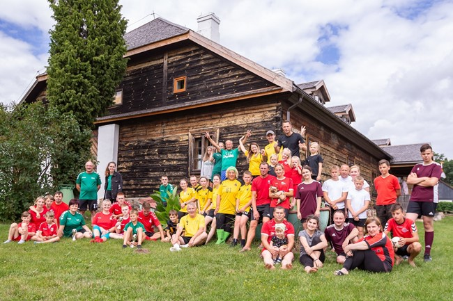 Šeimų futbolo šventė nukeliavo į Jurbarką