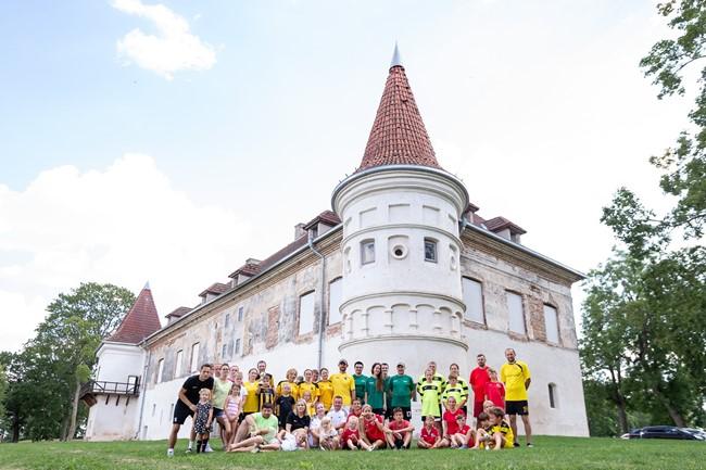 Futbolas šeimų šventės kelionė pasiekė Siesikus