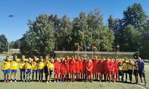 """Marijampolės futbolo centras organizavo vaikų vasaros stovyklą """"Futbolas visiems"""""""
