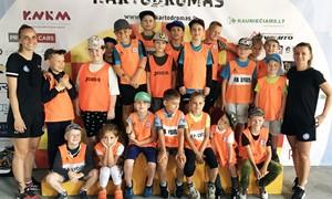 """FC """"Hegelmann"""" akademija suorganizavo vaikų stovyklą"""