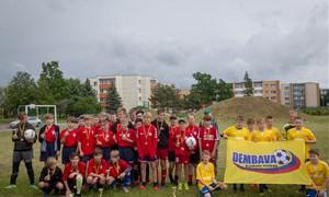 """FK """"Dembava"""" organizavo stovyklą vaikams"""