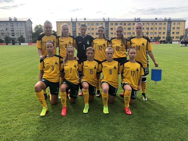 Baltijos taurės turnyro starte – pralaimėjimas estėms