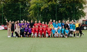 Moterų futbolo diena LFF stadione: atviroji treniruotė bei naujos lygos startas