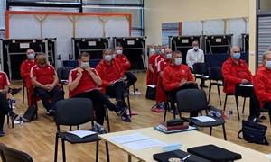Futbolo teisėjų inspektorius sutelkė seminaras Prienuose
