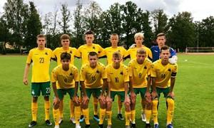 Lietuvos U-17 rinktinė susirinko į stovyklą Kaune
