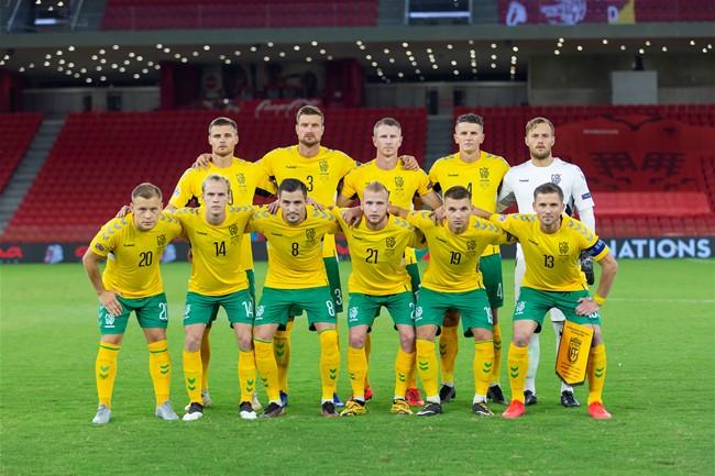 Lietuvos rinktinė iškovojo pergalę prieš Albaniją