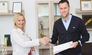 LSU studentui – Lietuvos futbolo federacijos parama
