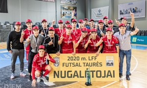 "LFF futsal taurę laimėjo ""Vytis"""