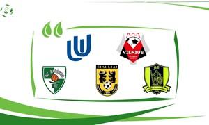 """Penki futbolo klubai dalyvaus aplinkosaugos projekte """"GreenCoach"""""""