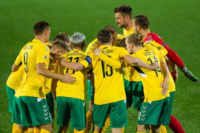 Lietuvos vyrų rinktinė futbolo metus pradės kontroline akistata Kosove